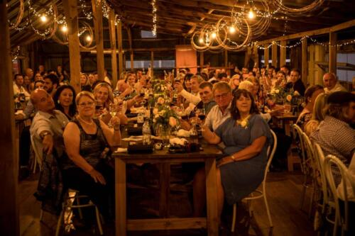 woolshed crowd